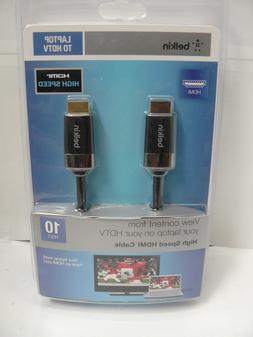 Belkin 10 ft/3m High Speed HDMI Cable Laptop to HDTV gaming