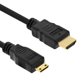 Mini HDMI 1080P A/V HDTV TV Video Cable Cord Lead for Nikon