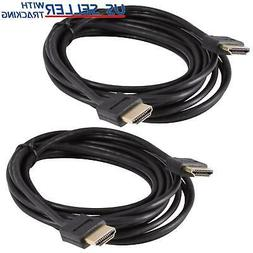 10FT Ultra Slim Thin HDMI Cable for BLURAY HDTV LCD HD TV 1