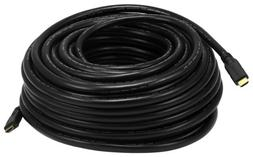 Monoprice 100ft 22AWG CL2 Standard HDMI Cable With Ethernet