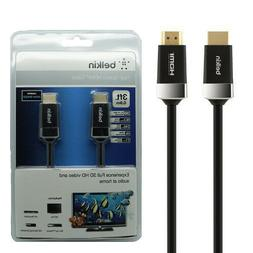 Belkin 3 ft. High Speed HDMI To HDMI Connection Cable for TV