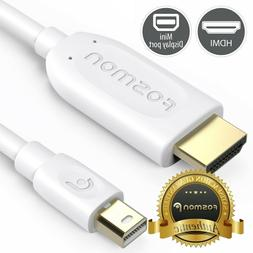 6FT ThunderBolt Mini DisplayPort to HDMI Cable for MacBook P