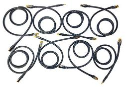 8 Pack - Monster THX 900 Ultra-High Speed HDMI Cable - 4 Ft