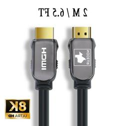 Noceur Gaming 8K HDMI Cable, 2.1, Gold Plated, 60Hz 8K/ 120H