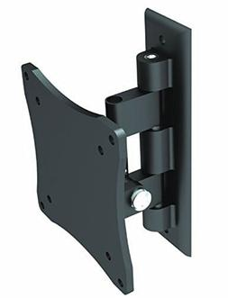 Black Full-Motion Tilt/Swivel Wall Mount Bracket for Dell U2