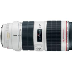Canon EF 70-200mm f/2.8L IS II USM Telephoto Zoom Lens for C