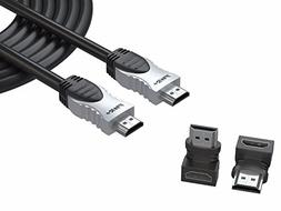 Pwr 50 Ft 4K HDMI Cable 2.0 for PS3 PS4 Pro Xbox 360 Apple-T