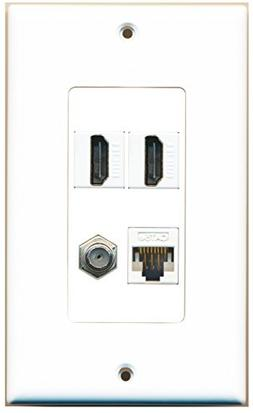 RiteAV - 2 x HDMI and 1 x Ethernet Cat5e and 1 x Coax Cable
