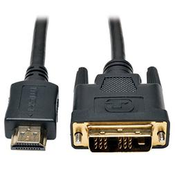 Tripp Lite HDMI to DVI Cable, Digital Monitor Adapter Cable