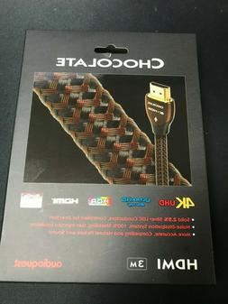 AudioQuest Chocolate HDMI Cable with Ethernet, 3D and 4K Ult