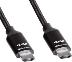 Basics 10.2 Gbps High-Speed 4K HDMI Cable with Braided Cord,