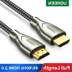 Ugreen Braided HDMI 2.0 Cable Full length 4K 60Hz HDMI to HD