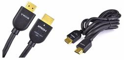 NEW-- Sony DLC-HE20PB Gold Plate High Speed 6.6FT HDMI Cable