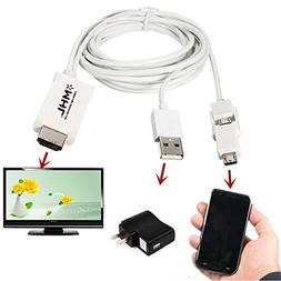 Lollipop Cable Adapter For Android Cell Phones Micro USB MHL
