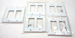 cables 2 gang standard size wall plate