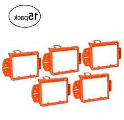Aurum Cables Double Gang Low Voltage Mounting Bracket Pack o