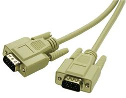 C2G/Cables to Go 02635 Economy HD15 SVGA M/M Monitor Cable