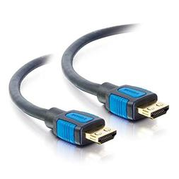 C2G 29677 High Speed HDMI Cable with Gripping Connectors, Bl