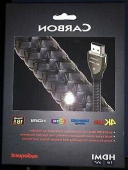 Audioquest Carbon HDMI Cable w/ Ethernet, 3D & 4K Ultra HD,