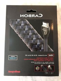 Audioquest Carbon HDMI Cable with Ethernet, 3D and 4K Ultra
