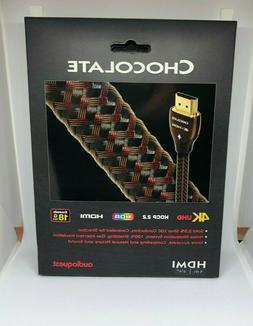 AudioQuest Chocolate Braided 1m  HDMI Cable. Brand New