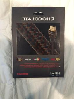 Audioquest Chocolate HDMI Cable w/ Ethernet, 3D 4K UHD HDR,