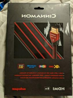 AudioQuest Cinnamon 8m  HDMI Cable