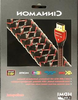 Audioquest Cinnamon HDMI Cable 1.5m 4K HDR 18Gbps NEW