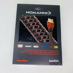 Audioquest Cinnamon HDMI Cable 2m 4K HDR 18Gbps NEW