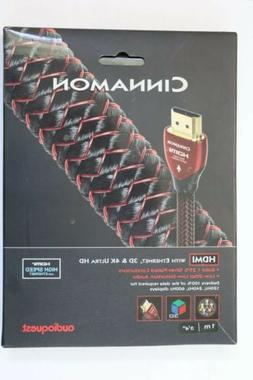 AudioQuest Cinnamon HDMI Digital Audio/Video Cable with Ethe