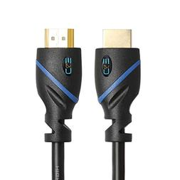 C&E High Speed HDMI Cable with Ethernet Black, , Supports 4K