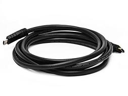 Monoprice Commercial 10ft 24AWG CL2 Silver Plated High Speed
