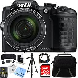 coolpix b500 optical zoom includes