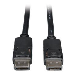 DisplayPort Cable with Latches  15-ft.