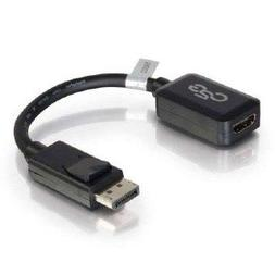 C2g 8in C2g Displayport M To Hdmi F Blk