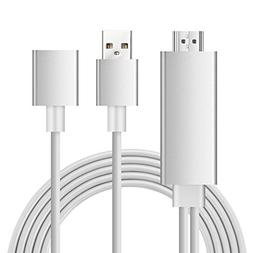 Newest 3 in 1 Full HD Mirroring Cable HDMI Cable Lightning M