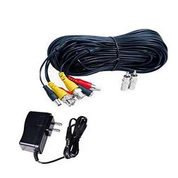 VideoSecu 100ft HD Audio Video Power Security Camera Cables