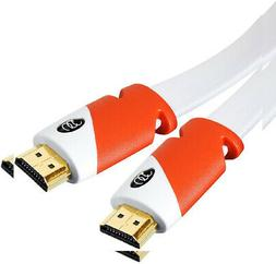 Ultra Clarity FLAT HDMI Cable  High Speed HDMI Cable  Flat W