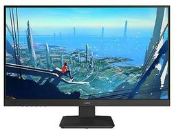 gaming lit monitor black