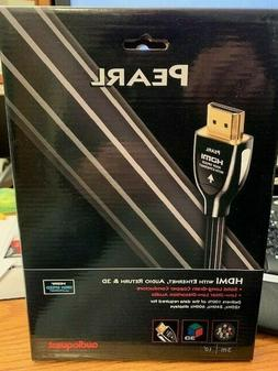 Genuine Audioquest Pearl  HDMI Cable 3M 10' Length