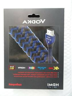 Genuine Audioquest Vodka HDMI Cable with Ethernet, 3D and 4K