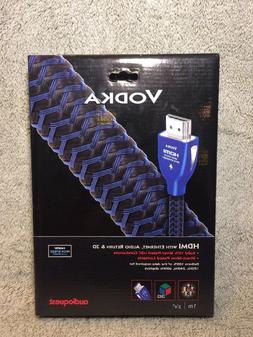 Genuine Audioquest Vodka HDMI Cable with Ethernet, Audio Ret