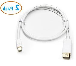 Aurum Cables Gold Plated Mini DisplayPort to HDMI Cable - 10