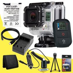GoPro HERO3: Black Edition + Replacement Lithium Ion Battery