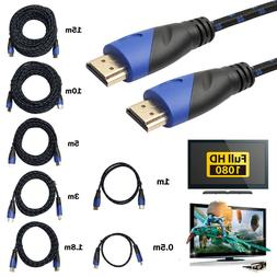 HD 1080P Braided HDMI Wire Cable Cord for Sony PlayStation 3