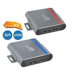 SIIG HDBaseT HDMI Extender 4K Ultra HD Over Single CAT5e/6 w