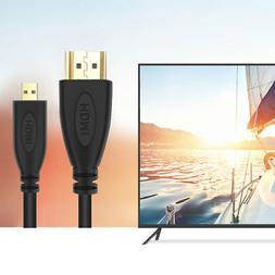 PwrON HDMI TV Video Cable for Sony CyberShot DSC-RX100M2 RX1