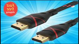 Rankie HDMI 2.0 Cable 6ft 4K Ready 30AWG Ethernet 3D Audio H
