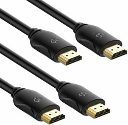 RuiLing HDMI Cable  - High-Speed Supports 4K, Ethernet, 3D a