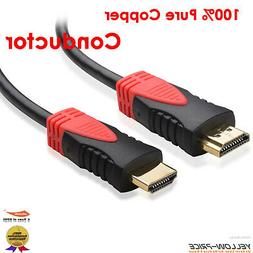 HDMI Cable 4K 15ft Computer to TV High Speed V1.4 For Xbox 3